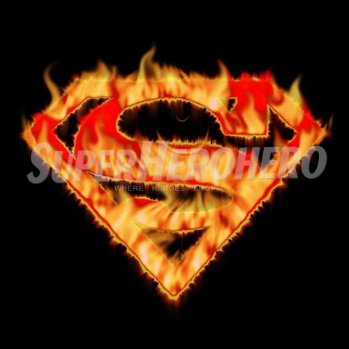 Designs Superman Iron on Transfers (Wall & Car Stickers) No.4649