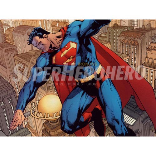 Designs Superman Iron on Transfers (Wall & Car Stickers) No.4650