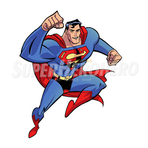 Designs Superman Iron on Transfers (Wall & Car Stickers) No.4651