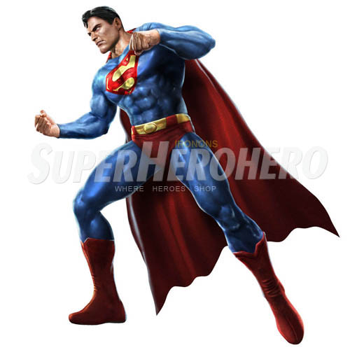 Designs Superman Iron on Transfers (Wall & Car Stickers) No.4652