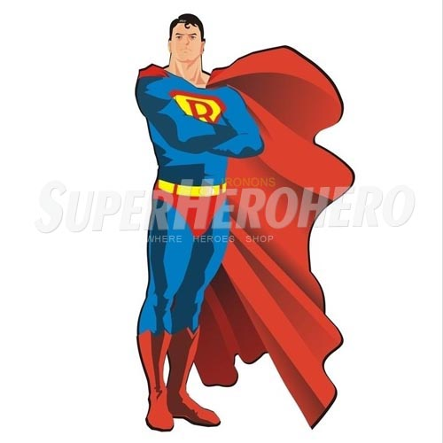 Designs Superman Iron on Transfers (Wall & Car Stickers) No.4658