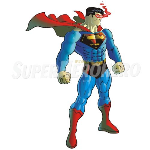 Designs Superman Iron on Transfers (Wall & Car Stickers) No.4659