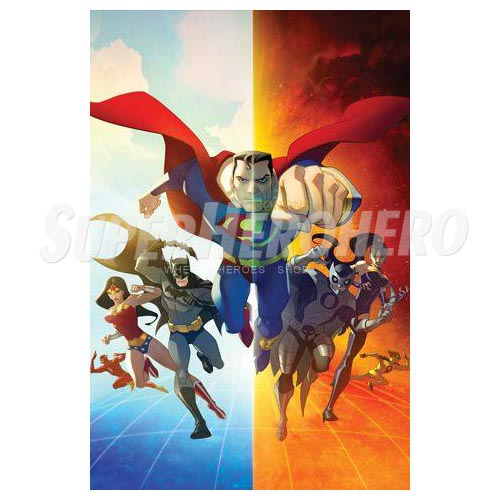 Designs Superman Iron on Transfers (Wall & Car Stickers) No.4660