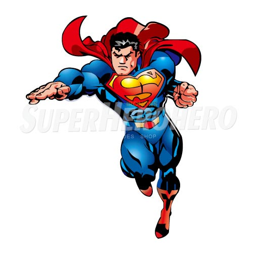 Designs Superman Iron on Transfers (Wall & Car Stickers) No.4661