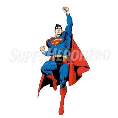 Designs Superman Iron on Transfers (Wall & Car Stickers) No.4662