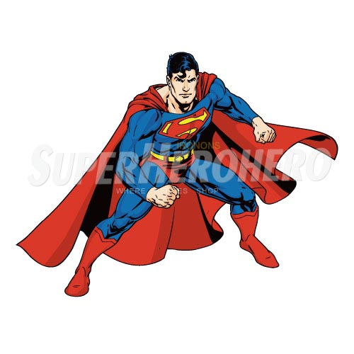 Designs Superman Iron on Transfers (Wall & Car Stickers) No.4663