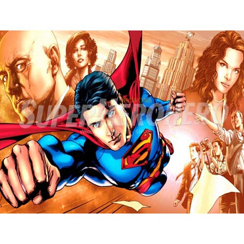 Designs Superman Iron on Transfers (Wall & Car Stickers) No.4665