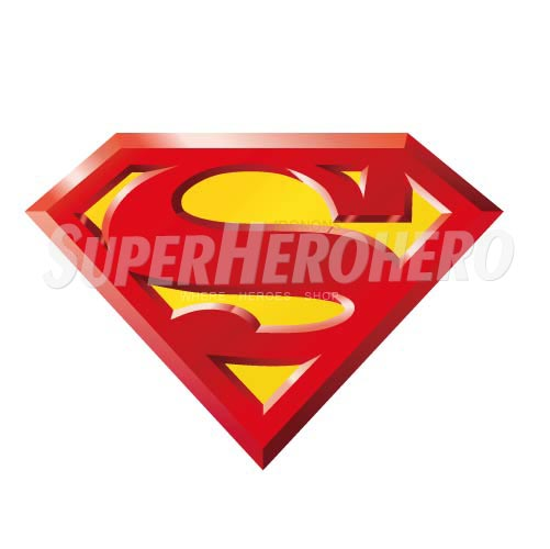 Designs Superman Iron on Transfers (Wall & Car Stickers) No.4666