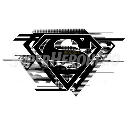 Designs Superman Iron on Transfers (Wall & Car Stickers) No.4669