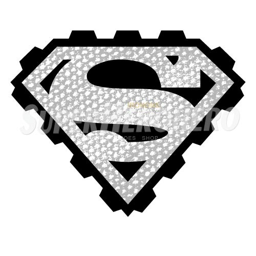 Designs Superman Iron on Transfers (Wall & Car Stickers) No.4670