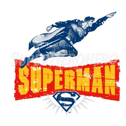 Designs Superman Iron on Transfers (Wall & Car Stickers) No.4672