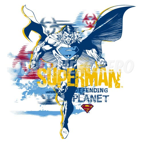 Designs Superman Iron on Transfers (Wall & Car Stickers) No.4673