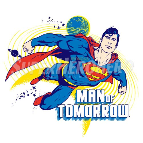 Designs Superman Iron on Transfers (Wall & Car Stickers) No.4676