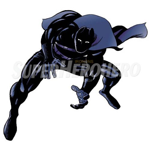 Custom T'Challa Iron on Transfers (Wall & Car Stickers) No.6508