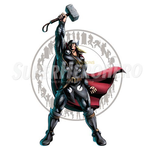 Designs Thor Iron on Transfers (Wall & Car Stickers) No.4678