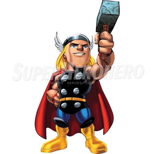Designs Thor Iron on Transfers (Wall & Car Stickers) No.4679