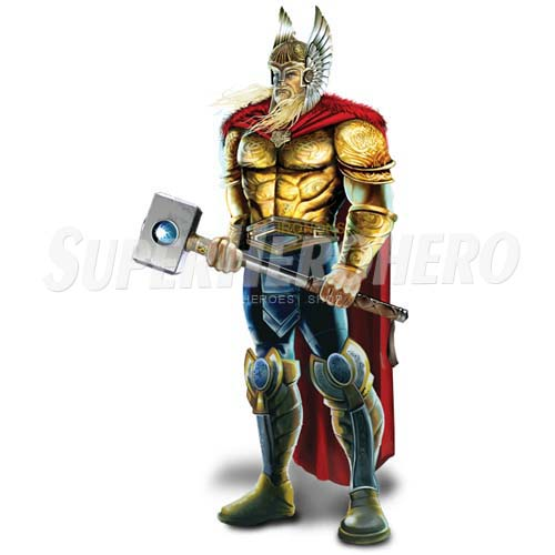 Designs Thor Iron on Transfers (Wall & Car Stickers) No.4680