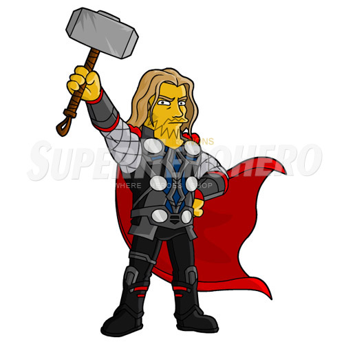 Designs Thor Iron on Transfers (Wall & Car Stickers) No.4683
