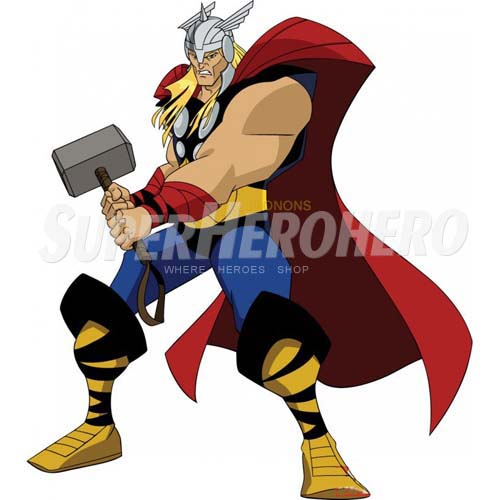 Designs Thor Iron on Transfers (Wall & Car Stickers) No.4687