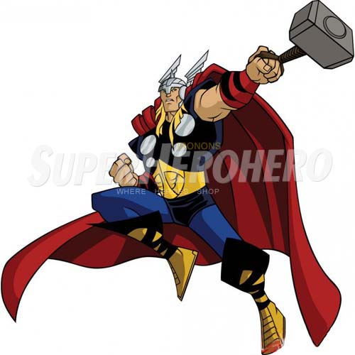 Designs Thor Iron on Transfers (Wall & Car Stickers) No.4688