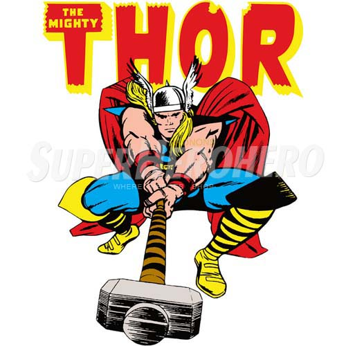 Designs Thor Iron on Transfers (Wall & Car Stickers) No.4693