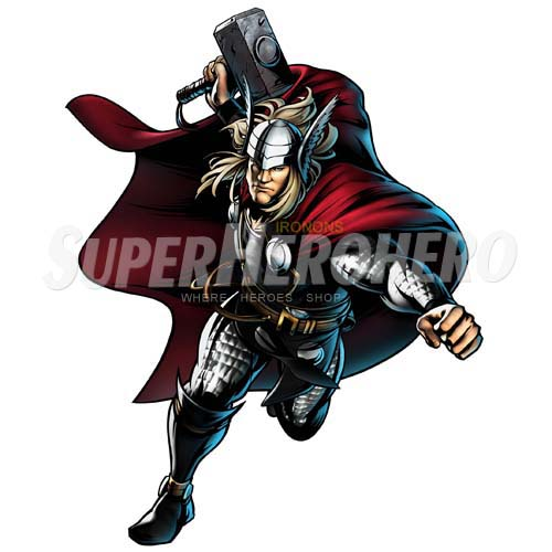 Designs Thor Iron on Transfers (Wall & Car Stickers) No.4694