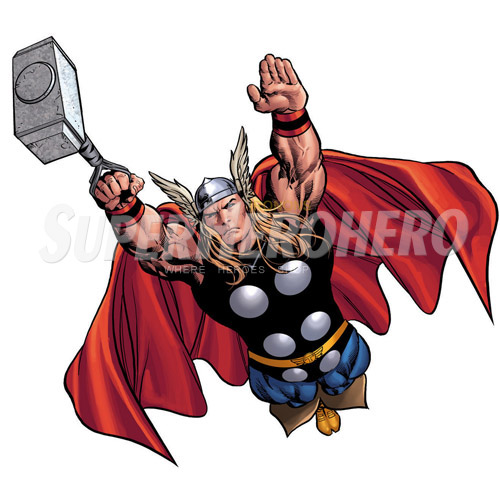 Designs Thor Iron on Transfers (Wall & Car Stickers) No.4697