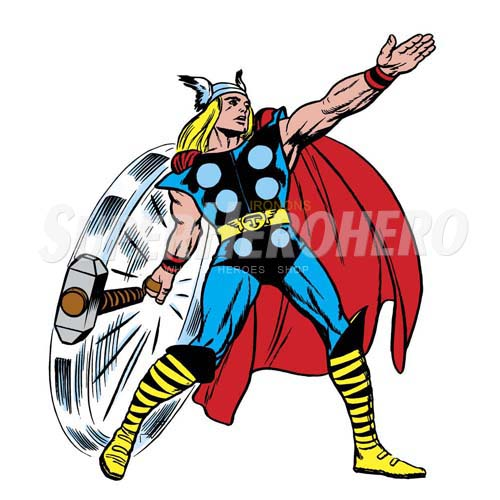 Designs Thor Iron on Transfers (Wall & Car Stickers) No.4698