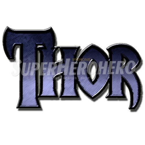 Designs Thor Iron on Transfers (Wall & Car Stickers) No.4704