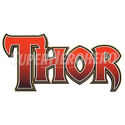 Designs Thor Iron on Transfers (Wall & Car Stickers) No.4705
