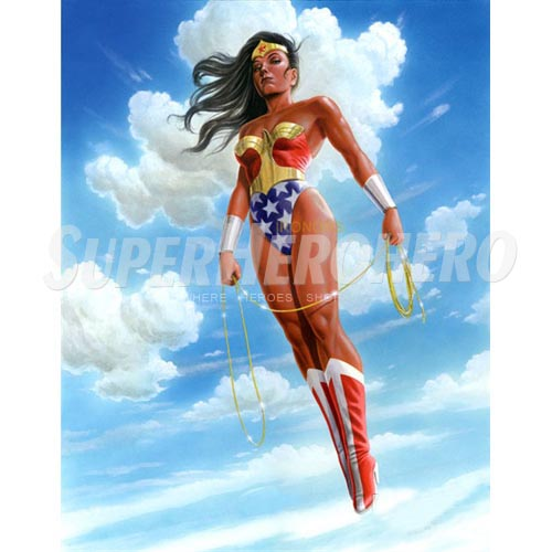 Designs Wonder Woman Iron on Transfers (Wall & Car Stickers) No.4715