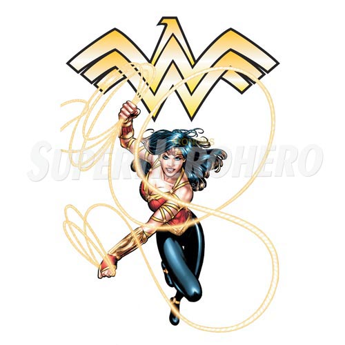 Designs Wonder Woman Iron on Transfers (Wall & Car Stickers) No.4719