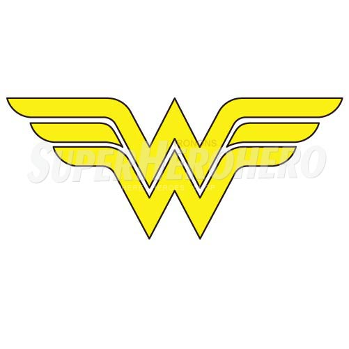 Designs Wonder Woman Iron on Transfers (Wall & Car Stickers) No.4730