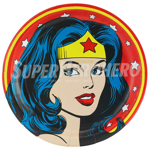 Designs Wonder Woman Iron on Transfers (Wall & Car Stickers) No.4737