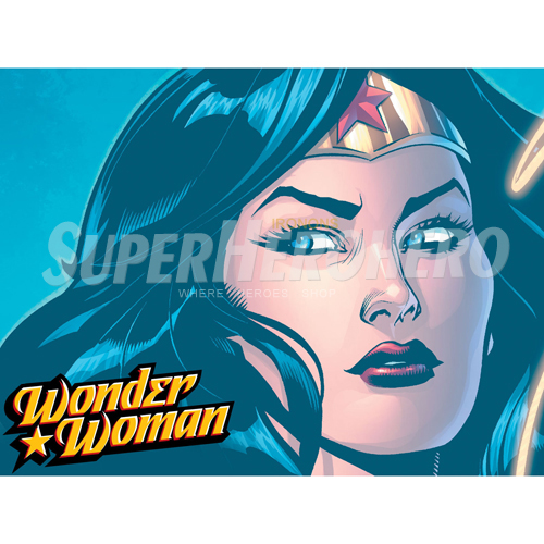 Designs Wonder Woman Iron on Transfers (Wall & Car Stickers) No.4739